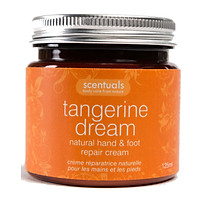 Kem Dưỡng Tay Chân Quýt Tangerine Dream Natural Hand & Foot Repair Cream Scentuals (125ml)