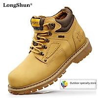 Giày thể thao nam cổ cao phong cách quân đội