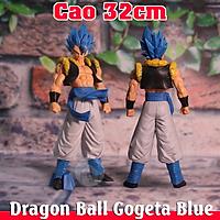 Mô hình nhân vật Dragon Ball Gogeta Blue Cao 32cm Cực Đẹp Có Hộp , Đồ chơi 7 viên ngọc rồng siêu ngầu Figure Kết hợp của Goku và Vegeta