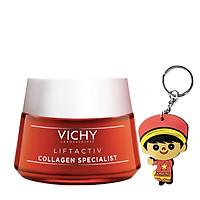 Kem dưỡng collagen Vichy LiftActiv Collagen (50mL   tặng móc khoá)