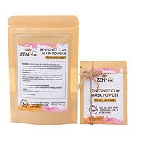 Mặt nạ bùn khoáng núi lửa kiểm soát dầu và mụn, thải độc tố, tái tạo da ZENNA Bentonite Clay 80g - Phù hợp cho mọi loại da đặc biệt da dầu và mụn