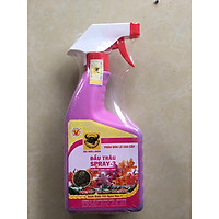 02 chai Phân bón đầu trâu SPRAY 3 chuyên dưỡng hoa giúp hoa lâu tàn tươi đẹp DTSP3