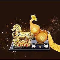 Ngựa hồ lô-Linh vật mang lại tài lộc, công danh thăng tiến - Vật phẩm phong thủy may mắn