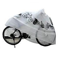Áo Trùm Chống thấm Nước Xe Máy , xe đạp, xe đạp điện, loại lớn trùm cho xe SH, vespa , Bạt phủ xe chống nắng mưa