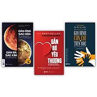 Bộ 3 cuốn sách giữ gìn hạnh phúc gia đình KZ : Đàn ông sao hỏa, đàn bà sao kim + Gắn bó yêu thương + Sự thật tàn nhẫn về gia đình, con cái và tiền bạc