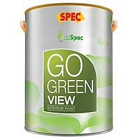Sơn phủ nội thất thách thức vết bẩn Spec Go Green Fresher 1L màu 047
