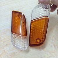 Nắp đèn xi nhan TRƯỚC xe DREAM LÙN (1 ĐÔI) - Vỏ chụp đèn xi nhan trước xe Dream lùn - TB1804