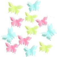 Bộ 10 con bướm dán tường phát sáng trang trí phòng M17