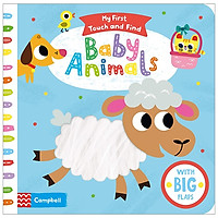 My First Touch And Find: Baby Animals