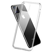 Ốp Lưng Điện Thoại Dành Cho Các Đời Máy Iphone Chất Liệu Silicon Trong Suốt, Chống Sốc, Bảo Vệ Mặt Lưng