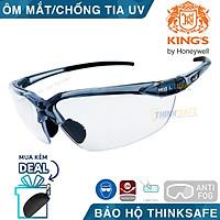 Kính bảo hộ King's KY711 kính chống bụi, trầy xước, mắt kính chống tia UV (trắng trong)