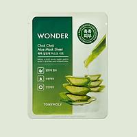 Mặt nạ dưỡng ẩm tinh chất lô hội Tonymoly Chok Chok Aloe Mark Sheet