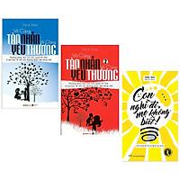Combo 3 cuốn Nuôi dạy con tự lập: Con Nghĩ Đi, Mẹ Không Biết + Vô Cùng Tàn Nhẫn Vô Cùng Yêu Thương (Tập 1 + 2) - Tặng Kèm Bookmark Happy Life