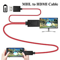 HDMI Adapter Micro USB to HDMI 1080P HD TV Cable Adapter for Samsung S3 S4 S5