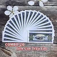 Combo 20 tờ lưu niệm hình con Trâu của Lào, dùng để sưu tầm, lưu niệm, làm tiền lì xì độc lạ, may mắn, ý nghĩa - TMT Collection - SP005073