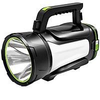 Đèn pin siêu sáng chuyên dụng tìm kiếm thám hiểm, tầm chiếu xa 600m, hoạt động tốt trong thời tiết mưa gió, chiếu sáng 18-25 tiếng liên tục, thương hiệu Smiling Shark - Hàng chính hãng