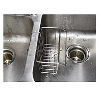 Khay đựng dụng cụ rửa chén inox 304 -12.5x18.5cm