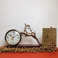Đồng hồ bàn hình hươu 400101