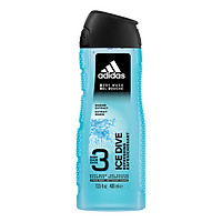 Sữa Tắm Gội Toàn Thân Nam Adidas Ice Dive 400ml