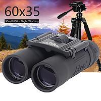 60X35 Foldable Mini Telescope Long Distance Binoculars Central Focus Hiking Camping Hunting 1000m