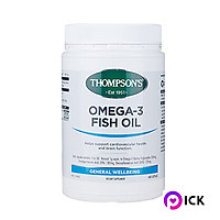 New Zealand Thompson's Omega 3 Fish Oil 1000mg 400 capsules