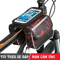 Túi xe đạp cao cấp,túi treo sườn xe đạp chống nước bọc cảm ứng phù hợp với mọi dòng xe - Thương Hiệu KIOTOOL