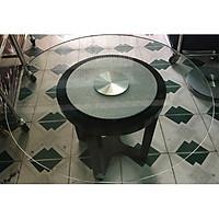 Mâm xoay bàn ăn kim tuyến bạc BMX17
