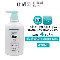 Dầu Xả Cấp Ẩm Chuyên Sâu Curel Intensive Moisture Care Hair Conditioner 420ml