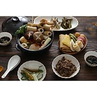 Bộ bát đĩa 4 người (10P) Cotton - Erato - Hàng nhập khẩu Hàn Quốc