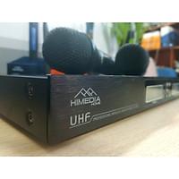 Micro không dây Himedia UHX5 tặng Bộ Sạc Pin + 4 Pin Sạc - SẢN PHẨM CHÍNH HÃNG