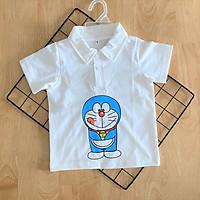 Áo thun bé trai| Áo thun cổ trụ |Quần áo trẻ em | Quần áo bé trai | Cho bé từ 8-20kg| Chất vải thun 100% cotton mềm mịn, co giãn 4 chiều