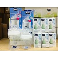 Bình sữa núm nghiêng Pisa Natural Feeling Chicco cho trẻ từ sơ sinh