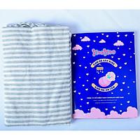 Quấn ngủ chũn KooKoo đóng hộp cao cấp - Giúp bé ngủ ngon, sâu giấc, chống giật mình - Vải cotton co giãn 4 chiều, mềm mại thoáng mát - Phù hợp cho trẻ sơ sinh dưới 4 tháng tuổi