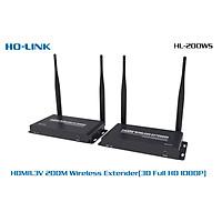 Bộ chuyển đổi thu phát HDMI 200M Ho-link HL-WS200 Point to Point ( không vật cản ) - Hàng nhập khẩu