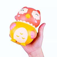 Squishy chú gà VLAMPO hàng siêu mềm quà tặng cho bé