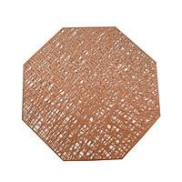 Combo 2 tấm lót bàn ăn hình bát giác KT 38.5cm - LT01-8
