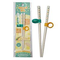đũa ăn cho trẻ từ 2 đến 5 tuổi dài 16.5cm có vòng đeo hỗ trợ tập cầm đũa