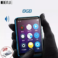 BENJIE X5 Bluetooth 5.0 MP3 Player Full Touch Screen 8GB/16GB Music Player Built-in Speaker Support Recorder Video E-book MP3 Player