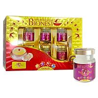 Hộp Yến sào Bionest Mum cao cấp cho mẹ bầu 6 lọ - hộp quà tặng