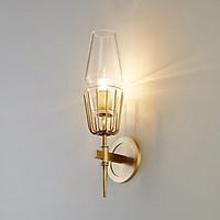 Đèn gắn trang trí tường ngọn đèn thân vàng cao cấp GT429 (tặng kèm bóng đèn).