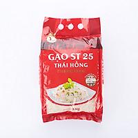 Gạo ST 25 Thái Hồng thượng hạng túi 3 kg