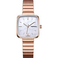 Đồng hồ nữ mặt xà cừ chính hãng Thụy Sĩ  TOPHILL TS008L.S3252