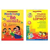 Combo sách cho bé vào lớp 1: Chuẩn bị cho bé vào lớp một và Hành trang cho bé vào lớp 1 - tặng cuốn sách Rèn Luyện Kỹ Năng Giao Tiếp Dành Cho Học Sinh