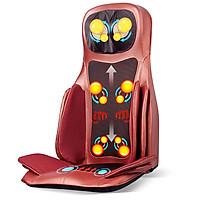 Ghế massage toàn thân cao cấp Nhật Bản Nikio NK-181 - Xoa bóp, đấm bóp, áp suất khí, nhiệt hồng ngoại - Màu đỏ