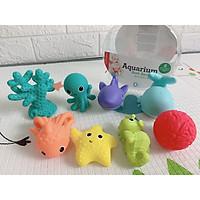 Hộp đồ chơi tắm 8 sinh vật biển cao cấp...