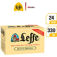 Thùng 24 Chai Bia Leffe Blonde (330ml / Chai)