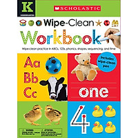 Wipe Clean Work Books - K