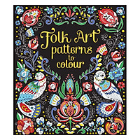 Usborne Folk Art Patterns to Colour
