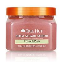 Tẩy tế bào chết cơ thể Tree Hut Shea Sugar Scrub Lychee & Plum