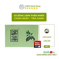Xà Phòng Sinh Dược- Xà Bông Chùm ngây Trà xanh - Ngừa mụn VNL (Bánh 100gr)